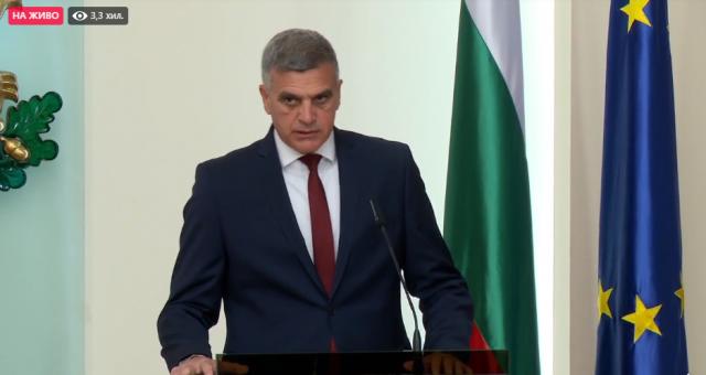 Стефан Янев: Залагам целия си авторитет, че ще работя почтено, при спазване върховенството на закона