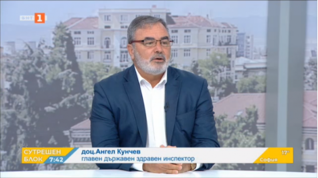 Доц. Ангел Кунчев: В момента няма основание да не удължим епидемичната обстановка