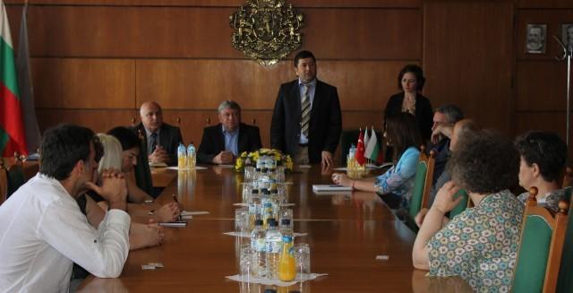 Търговският аташе на Турция се срещна с представители на бизнеса в Плевен