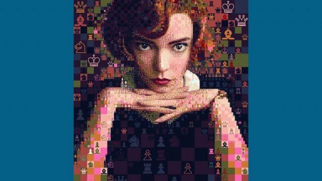 Графичен дизайнер създава портрети на героиня от