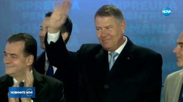Клаус Йоханис печели втори президентски мандат в Румъния