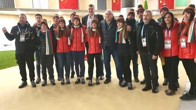 Министър Кралев и вицепрезидентът на БОК Любо Ганев се срещнаха с олимпийците