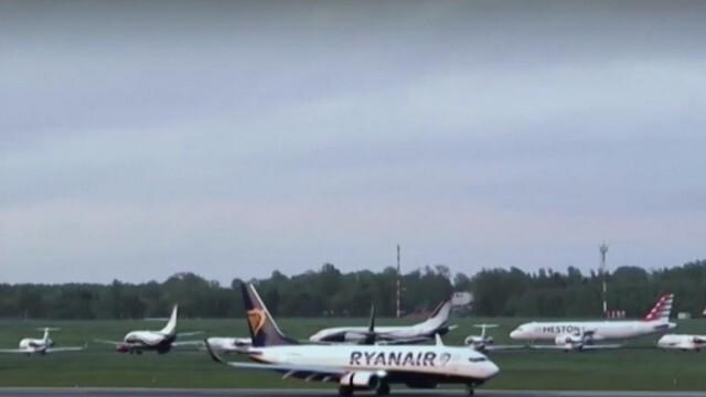 Световни лидери призовават за санкции заради принудително приземяване на самолет в Минск