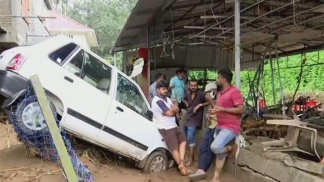 Повече от 20 жертви взеха наводнения в Южна Индия