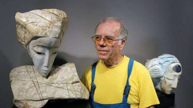 Именитият скулптор проф. Кирил Мескин празнува днес рожден ден
