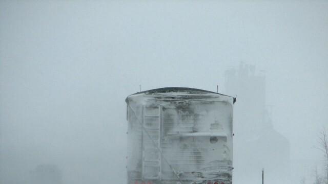 Снегът ограничи движението в Прохода на Републиката
