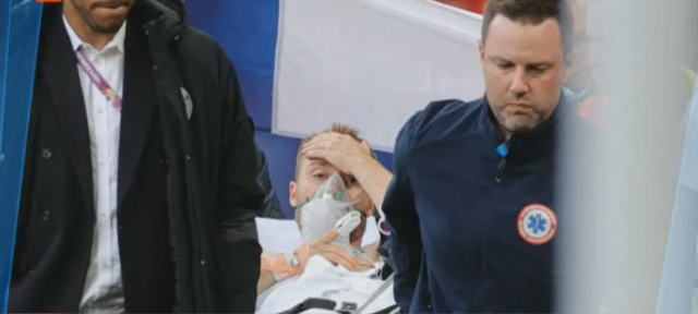 Инфаркт е една от версиите за инцидента с датския футболист