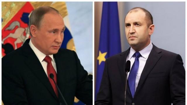 За какво ще си говорят днес Радев и Путин?