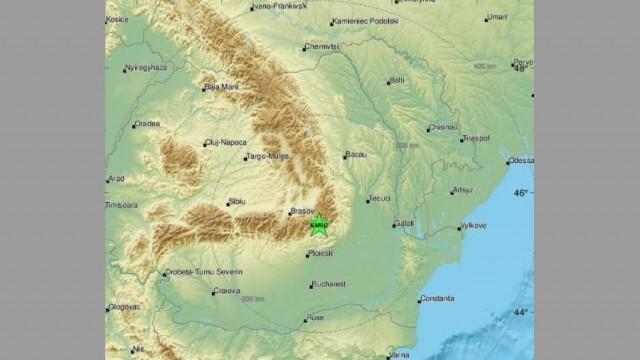 За 24 часа: Два труса бяха усетени в региона на Вранча