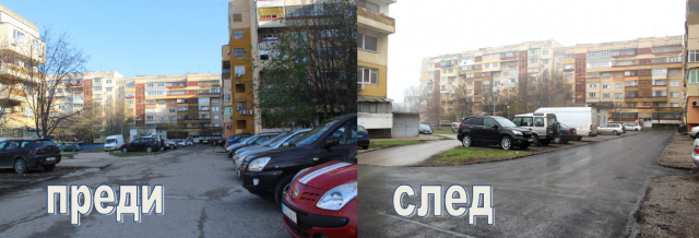 Община Русе ремонтира улици в Чародейка, изоставени от 15 години