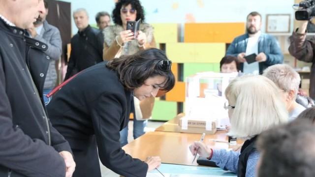 Диана Иванова: Гласувах за демократичното бъдеще на Русе