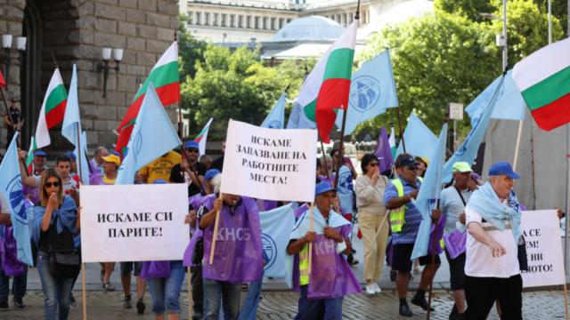 Пътните строители излизат отново на протест