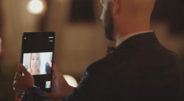 Сватба по време на пандемия  - младоженецът успя да танцува онлайн с майка си (ВИДЕО)