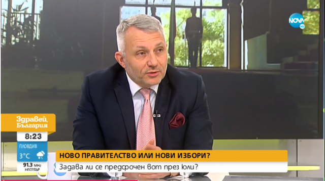 Николай Хаджигенов: Ако  се стигне до трети мандат, трябва да се положат максимални усилия, за да има правителство