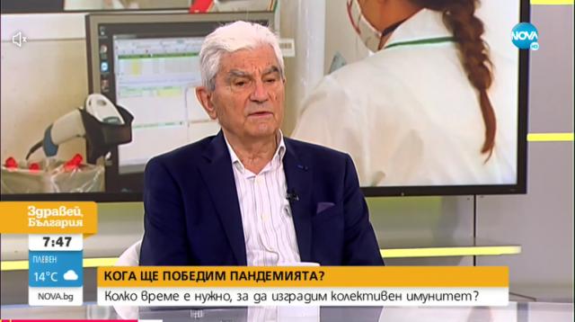 Акад. Петрунов: Има опасност отново да бъдат въведени по-строги мерки