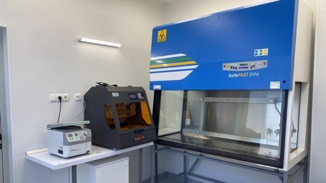 В Плевен започва работа новата вирусологична лаборатория за изследване на COVID-19