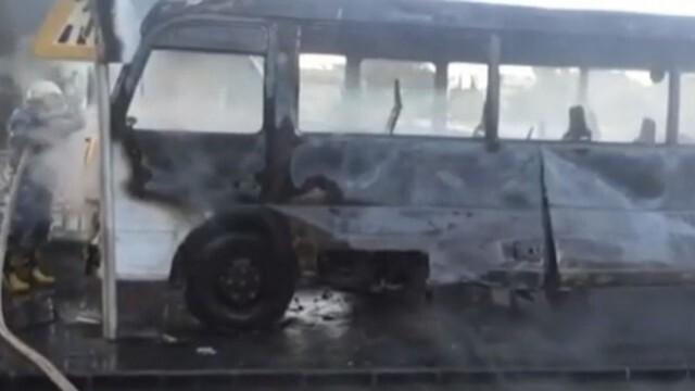 Смъртоносна бомбена атака взриви автобус, има загинали и ранени