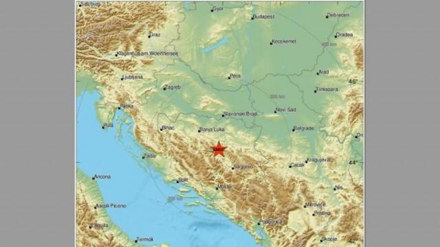 Земетресение разлюля Централна Босна