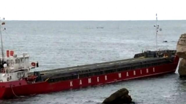 Екозаплаха: Водолаз твърди, че от заседналия край Камен бряг кораб изтичат отрови