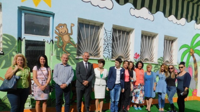 """Областният управител на Плевен присъства на рождения ден на Център за работа с деца """"Аутизъм днес"""""""