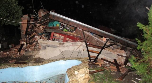 Взрив събори триетажна вила в Русе, изкараха стопанина й изпод руините (ВИДЕО)