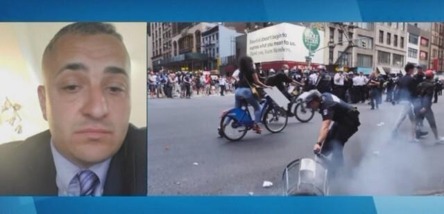 Трима полицаи от български произход ранени в безредиците в САЩ (ВИДЕО)
