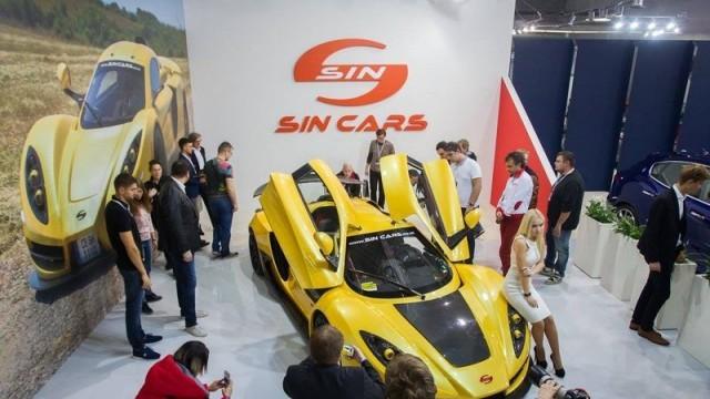 SIN CARS събра погледите и на най-голямото изложение в Полша  /Снимки/