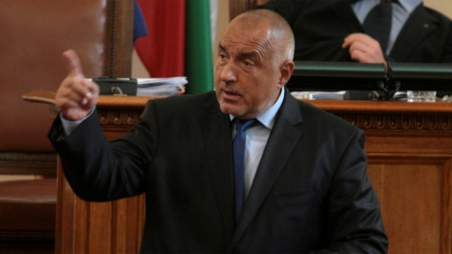 Борисов: Работата на Реформаторите в парламента е да си седят на столовете