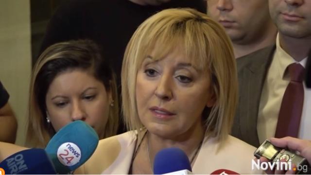 Манолова: Изказването на Тошко Йорданов бе аплодирано от ГЕРБ и ДПС. Защо?