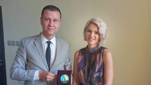 Синан Хебибов с награда за съществен принос в обществения живот на община Борово