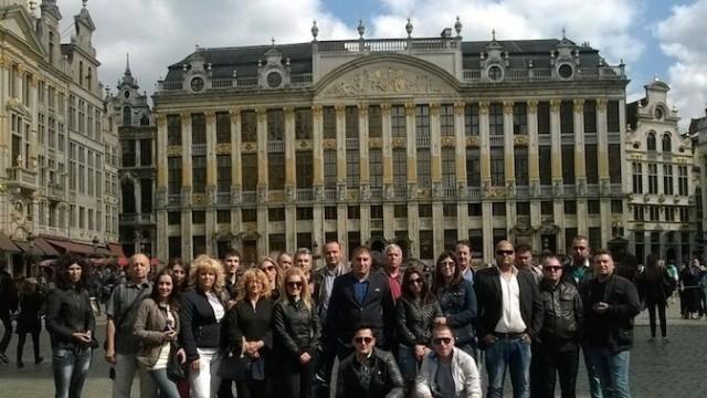 15 плевенчани посетиха Европейския парламент