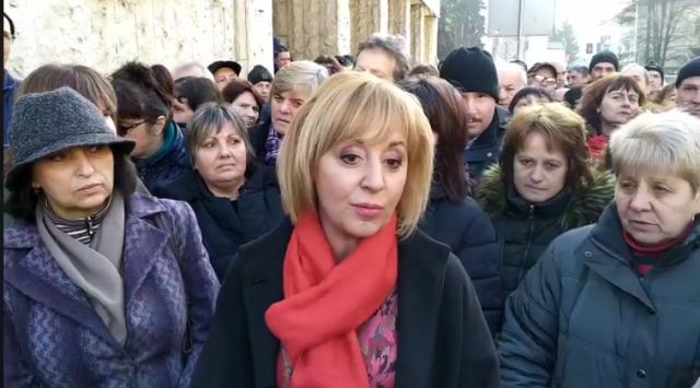 Мая Манолова съдейства работниците от