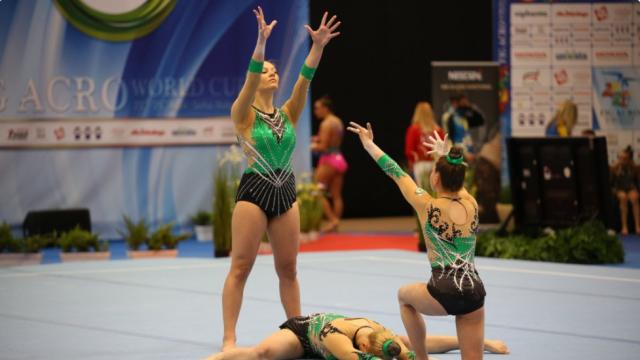 14 медала за българските състезатели на международен турнир по акробатика в София