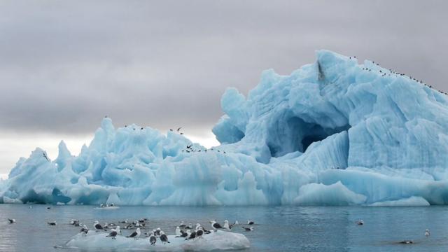 Потресаваща е загубата на лед в последното десетилетие