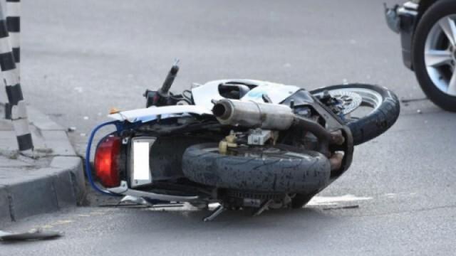 Мотоциклетист катастрофира тежко, откаран е в болница