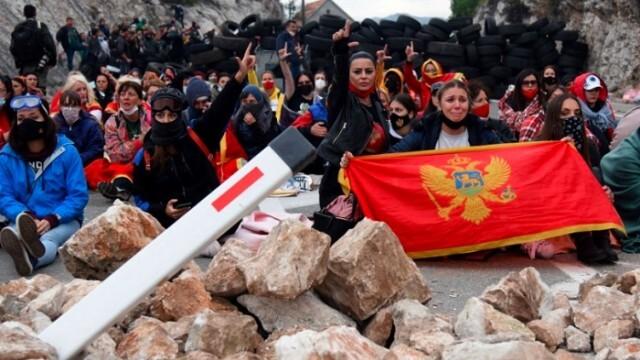 Десетки ранени в Черна гора заради ръкополагането на сръбски митрополит