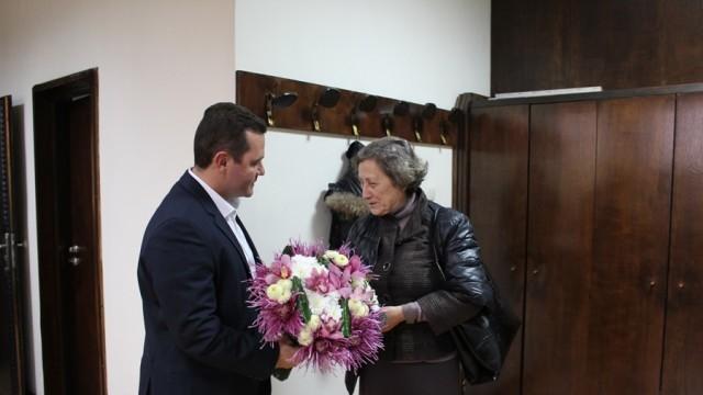 Пенчо Милков се срещна с Нешка Робева преди спектакъла