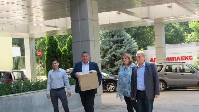 """Българските патриоти закриха кампанията си с дарение за АГ при УМБАЛ """"КАНЕВ"""""""