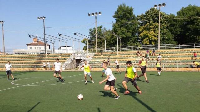 Феърплей и ентусиазъм на футболния турнир за деца и младежи от 9 до 15 г. в Ловеч