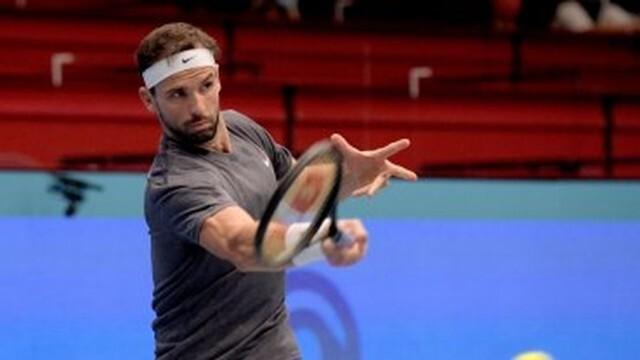 Григор Димитров отпадна от турнира в Австрия