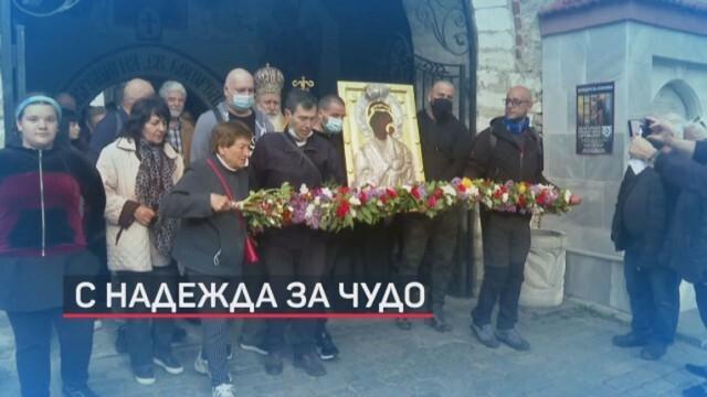 Хиляди се стекоха на литийното шествие в Бачковския манастир