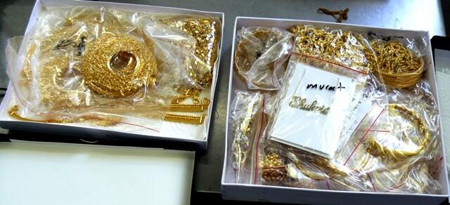 Рекордно количество злато задържаха на Дунав мост II