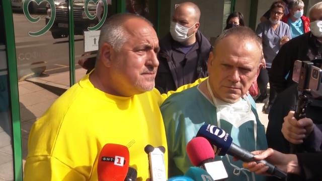 Ново 20: Борисов отрече, че ще се кандидатира за президент