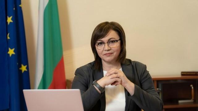 Нинова за Борисов: България предплати 18 500 000 ваксини, а се моли да получи ваксини в заем