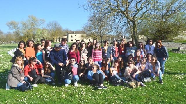 Ученици и учители от Италия и Франция гостуват на  Езиковата гимназия в Плевен