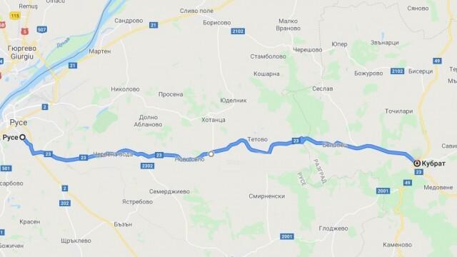 38 млн. лева ще бъдат вложени в пътя Русе - Кубрат, ремонтът започва през септември