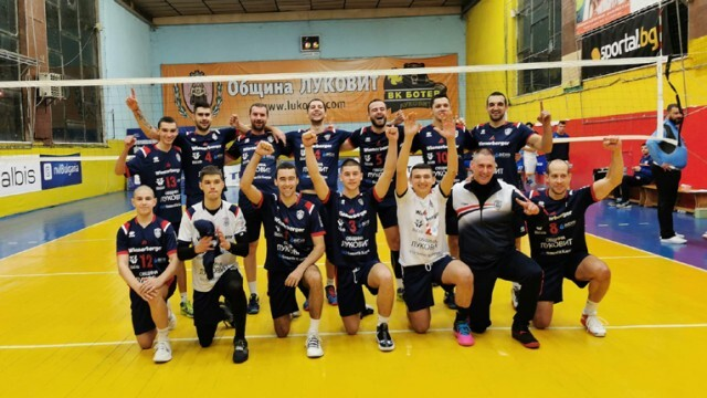 Волейболистите на Луковит нанесоха първа загуба на лидера, идва дерби с Тетевен
