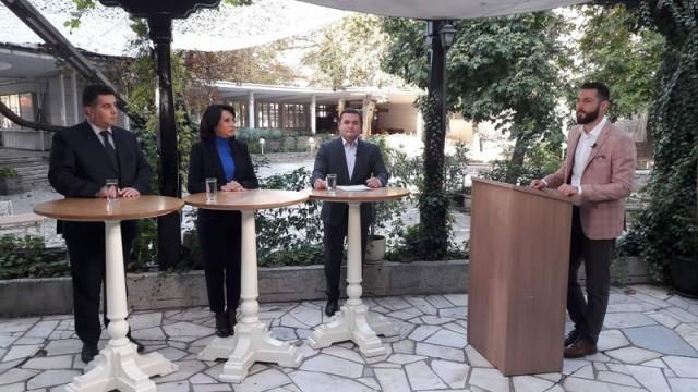 Трима от кандидатите за кмет на Русе  влязоха в първи телевизионен дебат