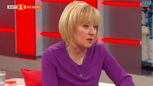 Мая Манолова: Президентът Радев да насрочи изборите!