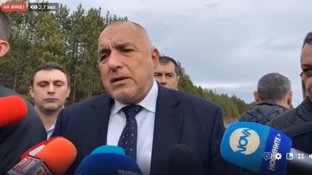 Бойко Борисов след изявлението на президента: Хабите ми енергията, не ме интересува